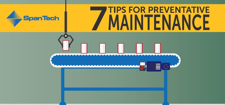 7 Tips For Preventative Maintenance Span Tech Conveyors