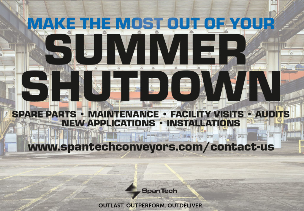Make the Most out of Your Summer Shutdown   Span Tech Conveyors